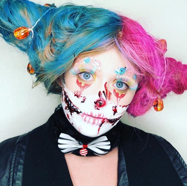 JD Academy Halloween Makeup