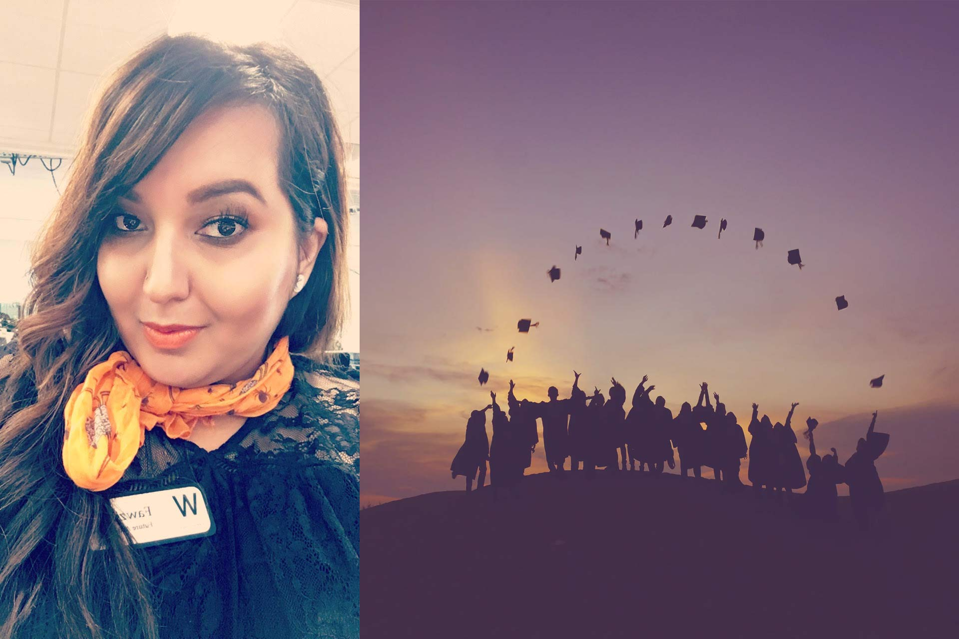 Fawzia Graduates Cosmetology School