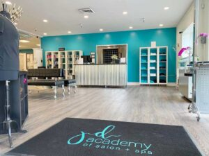 Front entrance to JD Academy's Beauty School in The San Francisco Bay Area